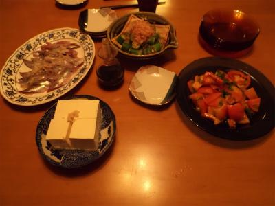 7.15夕食