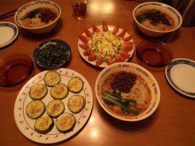 7.20夕食