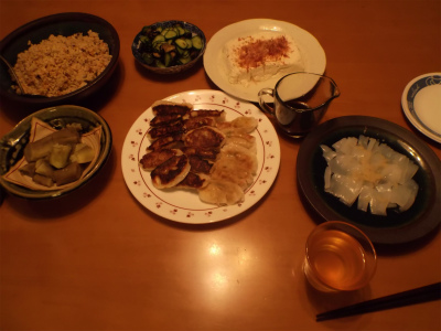 7.25夕食