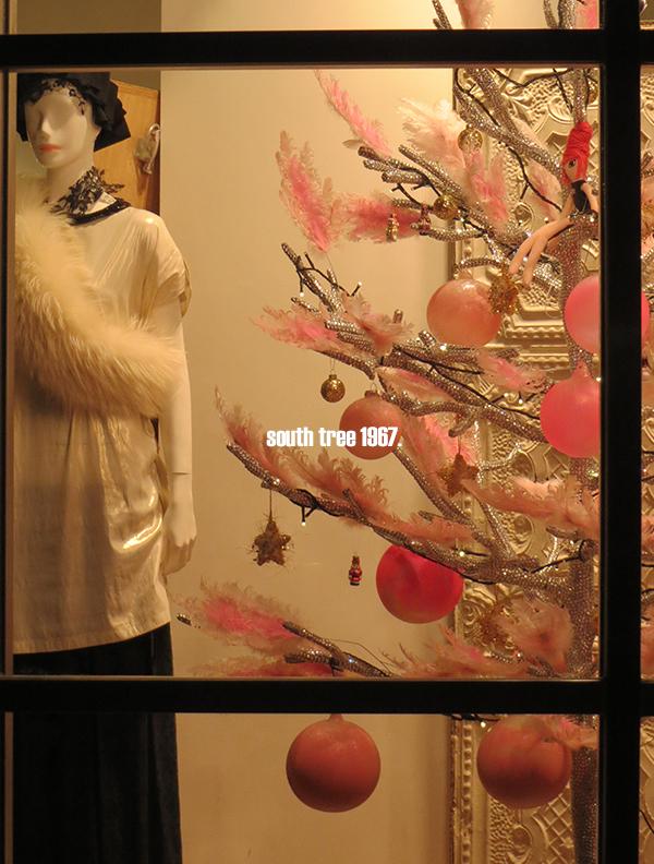 クリスマスショーウィンドウブログ用