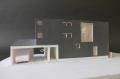 福島の家1:100模型