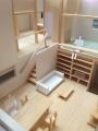 愛島の家内観模型写真