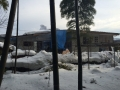 川原子の家北外観雪景色