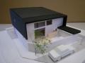 愛島の家見学会用模型写真