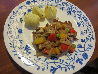 IMG_0201豚のソテー野菜ソース