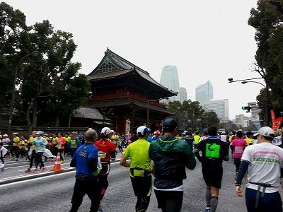 東京マラソン2015-12