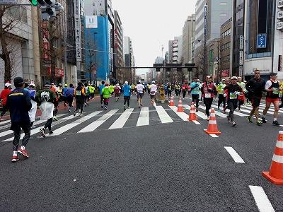 東京マラソン2015-16
