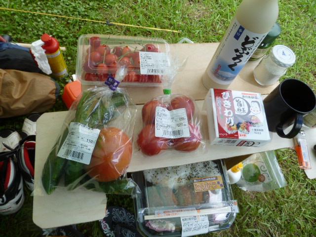 728昼ごはんと野菜