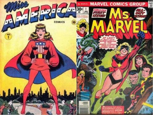 Miss AMERICA Ms MARVEL