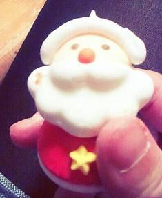 クリスマスケーキ用の飾り物