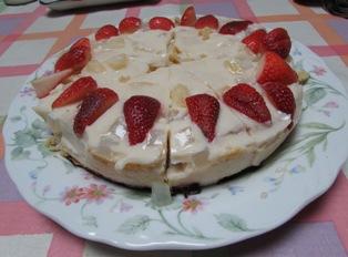 ヨーグルトゼリーケーキ