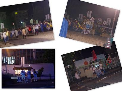 2015-08-15 ひまわりと大村と鐘楼流し3