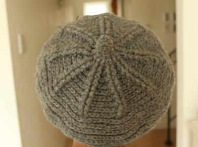 キノコグレー帽 (4)