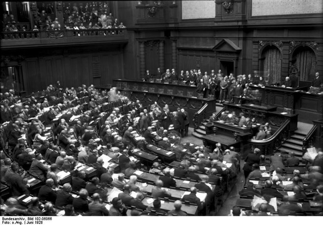 Bundesarchiv Bild 102 06066 Berlin Eröffnungssitzung des Reichstages