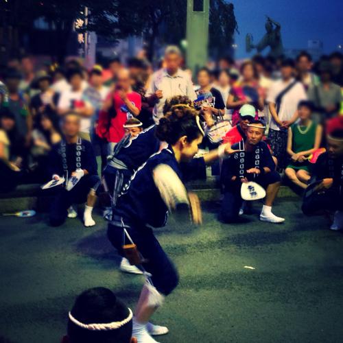 阿波おどり2015獅子歌舞連