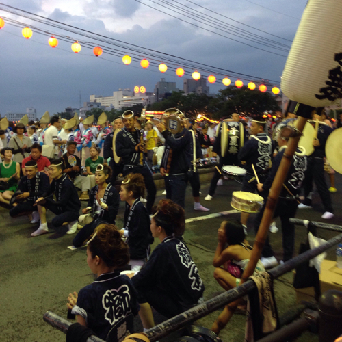 阿波踊り 2015 獅子歌舞連
