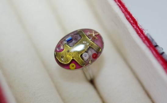 猫ちゃんの指輪^¥d-^-d^さだs