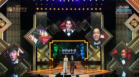 青龍映画祭表彰式2