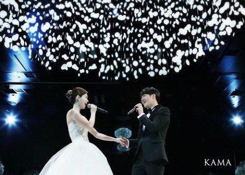 ユンサンヒョンとメイビー結婚式2