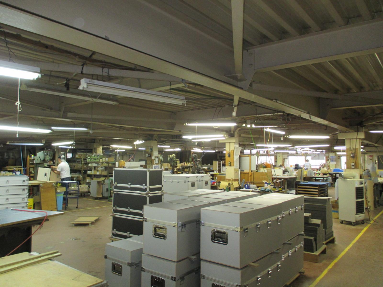 3Fアルミケース製造部