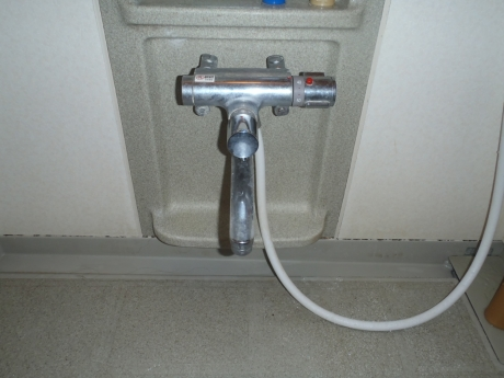 古い混合栓