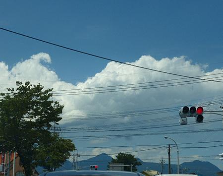 榛名方面には夏雲