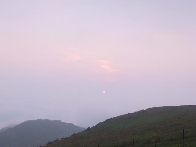 伊吹山 日の出