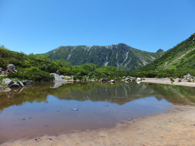 伊那前岳と濃ヶ池