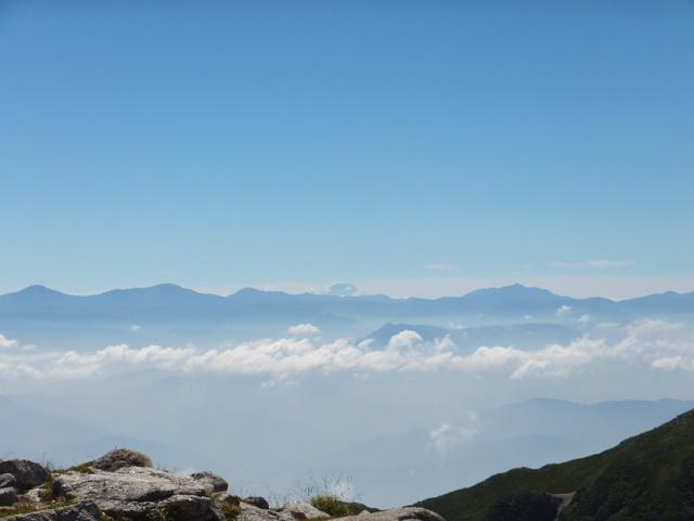 富士山、南ア