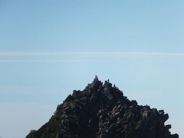 宝剣岳の頂