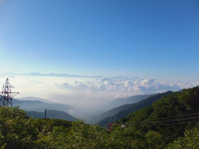 千畳敷駅からの風景
