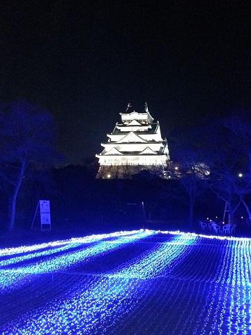 大阪城(夜)
