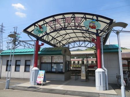 小佐越駅 駅舎