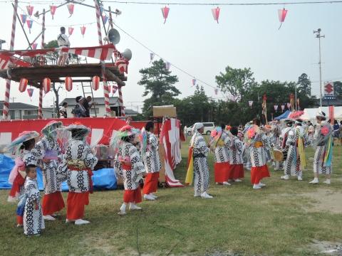 石岡市民盆踊り大会①