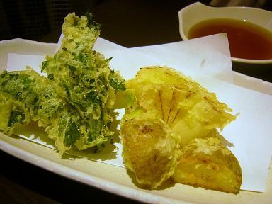 春野菜天ぷら1 (2)