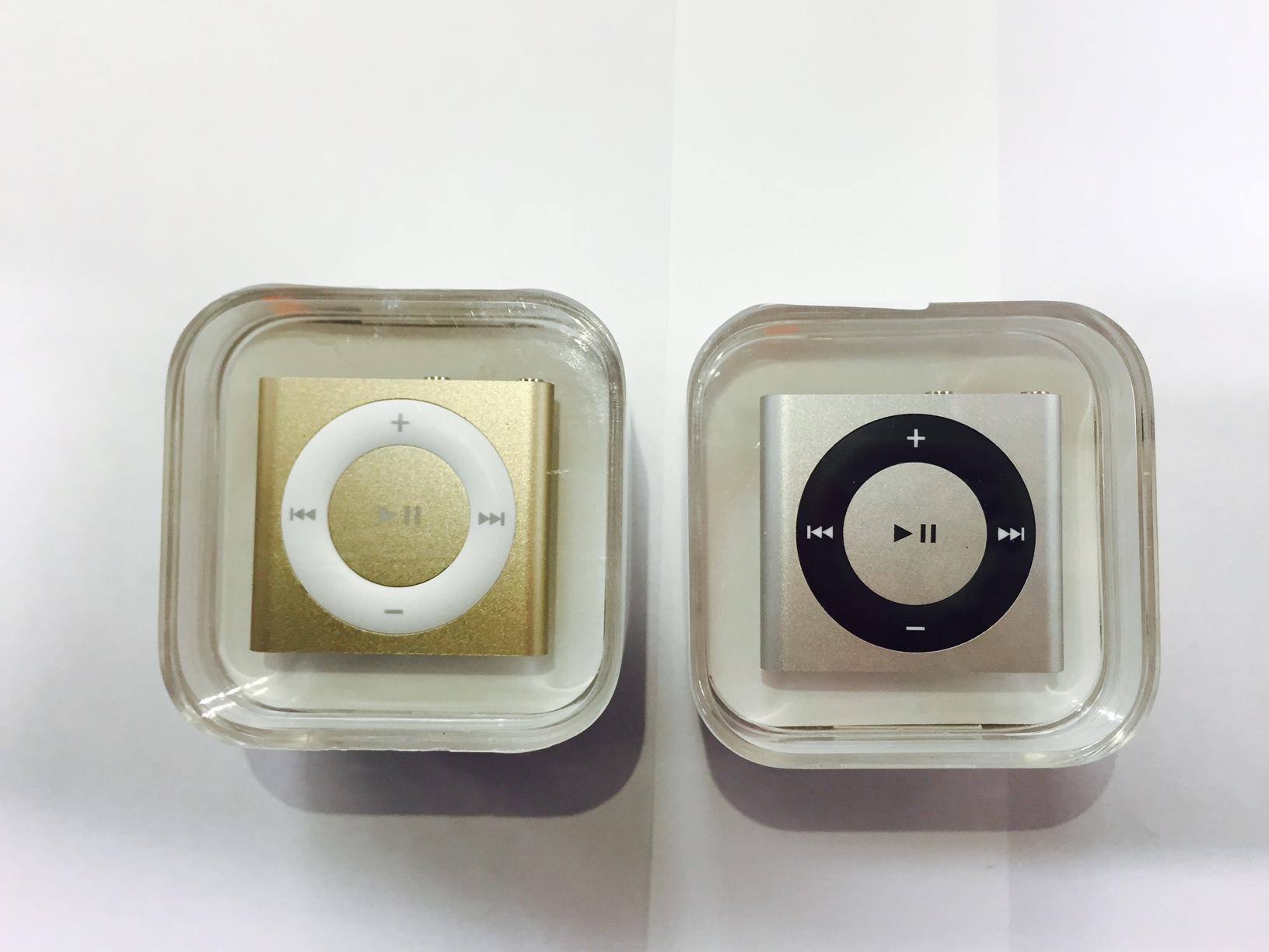 iPod shuffle 5世代 ゴールド スペースグレイ