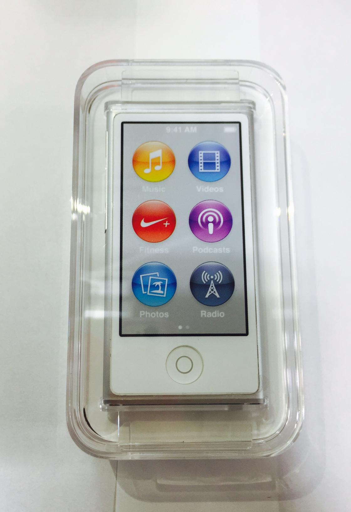 iPod nano 8世代 最新型 シルバー