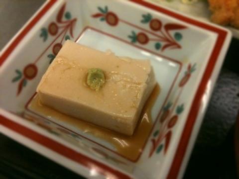 2012年3月20日 胡麻豆腐