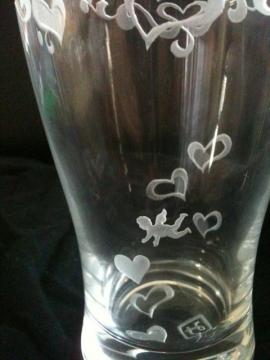ガラスのグラス2
