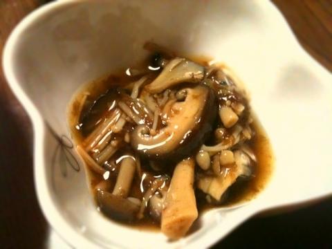 2012年4月28日 キノコのおかか煮