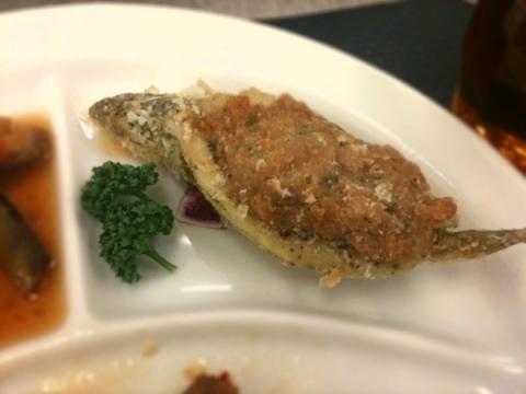 2012年5月29日 キスの鶏肉詰め揚げ2