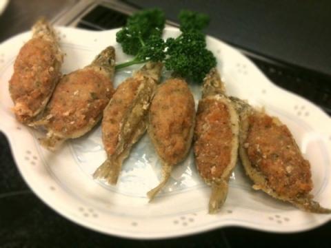 2012年5月29日 キスの鶏肉詰め揚げ