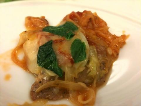 2012年7月24日 豚肉のピッツァイオーラ