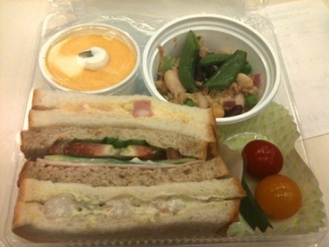 2012年9月30日 サンドイッチ1