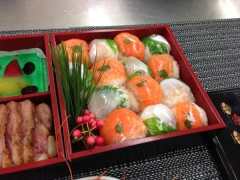 2012年12月19日 手まり寿司