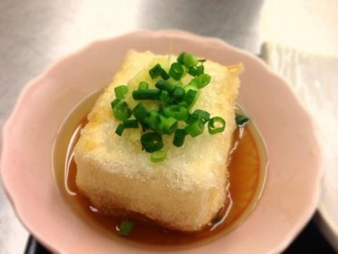 2013年2月12日 揚げ出し豆腐