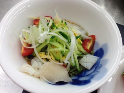 2013年7月9日 翡翠冷麺