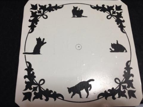 猫の時計1