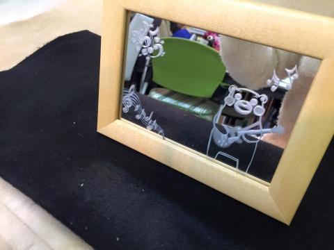 くまもん鏡2