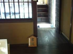 山寺常山邸の書院造の入り口